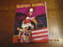 Superbowl 4 IV 1970 Football Program Chiefs vs Vikings bxsb