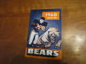 1960 Chicago Bears yearbook press guide  bxpro