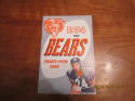 1954 Chicago Bears yearbook press guide em