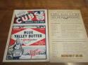 1936 Chicago Cubs vs Pittsburgh Pirates signed baseball program  60th anniversary insert