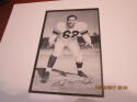 1957 Los Angeles Rams Team Issue Lewis McFadin Texas card nm