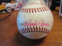 1958 SAn Francisco Giants Team Signed ONL giles Baseball 25 signatures