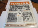 1988 Florida Spring Football prospectus Emmitt Smith