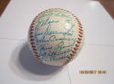1957 Chicago White Sox Team Signed oal ball Baseball 30 signatures  Fox, Doby,