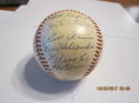 1951 Chicago White Sox Team Signed Baseball 24 signatures clean ball Nellie Fox