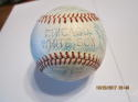 1960 Chicago White Sox Team Signed Baseball 31 signatures clean ball