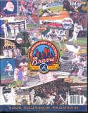 2006 Atlanta Braves Baseball Yearbook Program 1
