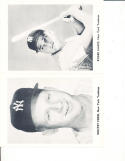 1960 New York Yankees team photo picture pack set Roger Maris, Mickey Mantle