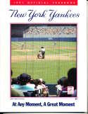 1991 New York Yankees Yearbook