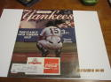 1989 Yankees magazine Thurman Munson old timers day