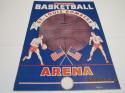 1949 St Louis bombers vs Philadelphia Warriors Joe Fulk BASKETBALL PROGRAM NBA9