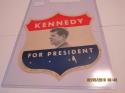 John Kennedy for President  5x6 Label Sticker