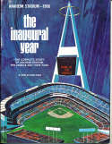 1966 Anaheim Angels Yearbook