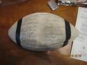 1958 Cleveland Browns Team Signed Football Ball Jim Brown Rookie jsa cert