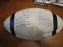 1959 Cleveland Browns Team Signed Football Ball Jim Brown  jsa cert