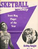 March 25 1976 Basketball Weekly Scott May Bobby Knight NBA11