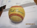 Ted Lyons Chicago White Sox signed baseball 1983 all star OAL JSA certified letter
