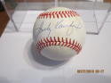 Sandy Koufax Dodgers signed baseball  ONL White ball  JSA certified letter