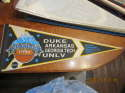 1990 UNLV Duke Georgia Tech NCAA Basketball Pennant The final four championship