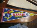 1991 Kansas NCAA Basketball Final Four championship Pennant