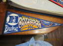 2001 Duke NCAA Basketball National Champions Pennant