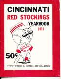 1953 Cincinnati Reds Yearbook