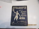 1913-1914 Spalding Basketball Guide  ex