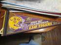 2003 LSU SEC champions football pennant