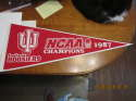 University of Indiana Hoosiers NCAA 1987 basketball champions  pennant