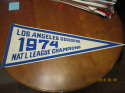 1974 Los Angeles Dodgers national league champions pennant