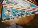 1997 Florida Marlins world series champions pennant