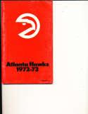 1972 - 1973 Atlanta Hawks media press guide NBAmg1