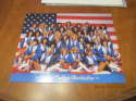1985 Dallas Cowboys Cheerleaders team picture 8x10 card photo