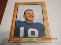 1960 Post Cereal John Unitas Baltimore Colts  em card nice
