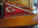 Kansas City Chiefs 2003 AFC West Division Champions Pennant bx2