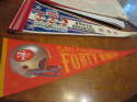 San Francisco 49ers red 1980's pennant bx2