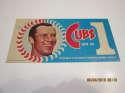1970 Glen Beckert Dunkin donuts Bumper Sticker Cubs are #1