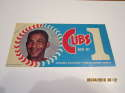1970 Billy Williams Dunkin donuts Bumper Sticker Cubs are #1