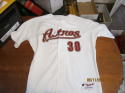 Shawn Chacon 2008 Houston Astros #30 game used road jersey