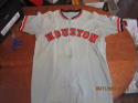 1972 Houston Astros #3 Hub Kittle  game used road jersey