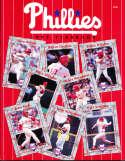 1993 Philadelphia Phillies baseball Yearbook nm yb6