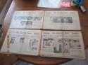 1936 Sporting News Newspaper Near Complete Run 52/53 Issues Gd-VG