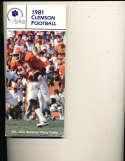 1981 Clemson Football Media Press guide CFBmg14