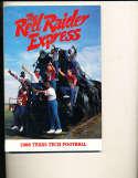 1986 Texas Tech Football Media Press guide CFBmg13
