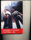 1980 Houston Football Media Press guide CFBmg12