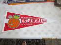 1988 Oklahoma Orange Bowl Football Pennant 29.5