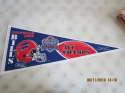 1992 Buffalo Bills AFC Champions Superbowl XXVII pennant 29.5