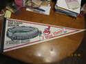 1993 Cleveland Indians Stadium pennant