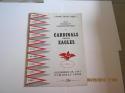 1947 NFL Championship Program Chicago Cardinals v Philadelphia Eagles Dec. 28