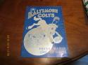 1954 Baltimore Colts Football Press media Guide ex     bx fg1